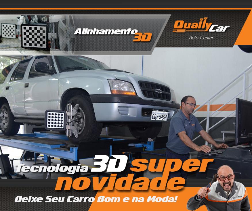 alinhamento de carro em 3D